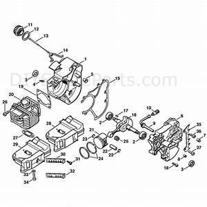 Stihl 020 Chainsaw Parts Diagram