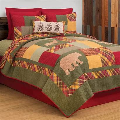 Quilt Plaid Forest King Enchanted Queen