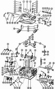 Edelbrock Carburetor Exploded View
