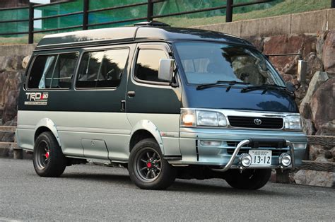 Toyota Hiace Modification by Toyota Hiace Modification Side Decal