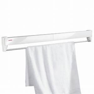 Etendoir A Linge Mural : acheter tendoir linge mural blanc telegant plus 100 ~ Dailycaller-alerts.com Idées de Décoration