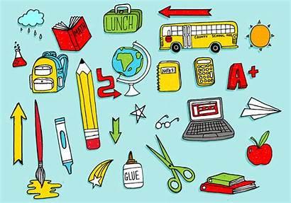 Vector Supplies Doodles Pack Clipart Vectors Vecteezy