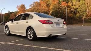 2017 Subaru Legacy Exhaust
