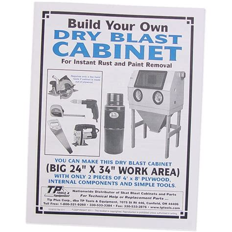 Diy Blast Cabinet Kit by Build Your Own Cabinet Plans Tp Tools Equipment