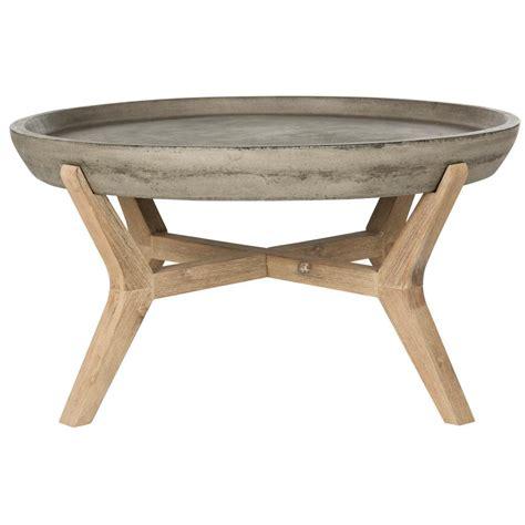 Garden & patio furniture sets. Safavieh Wynn Dark Gray Wood Indoor/Outdoor Coffee Table ...