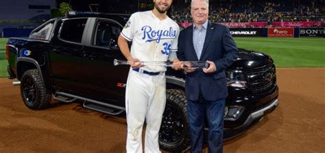 Chevy Awards Colorado Diesel To Eric Hosmer  Gm Authority