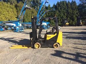1998 Daewoo Gc18 Used Cushion Tire Forklift For Sale Eqc009956