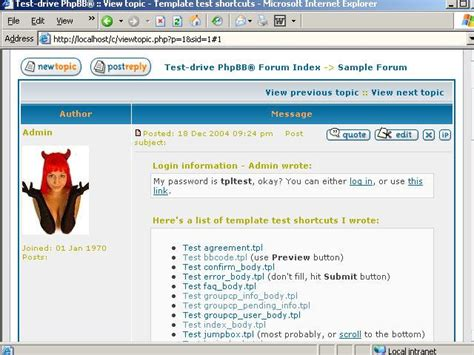 test suite template free phpbb template test suite by tpltest sourceforge net v 2011b software 615605