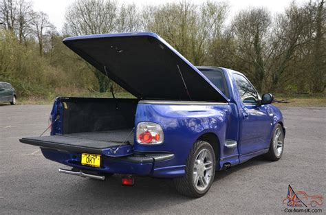 ford  lightning  supercharged  auto sonic blue