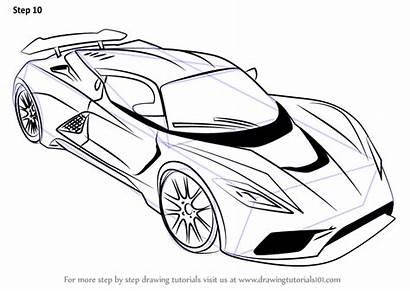 Drawing Draw Venom Step F5 Cars Sports