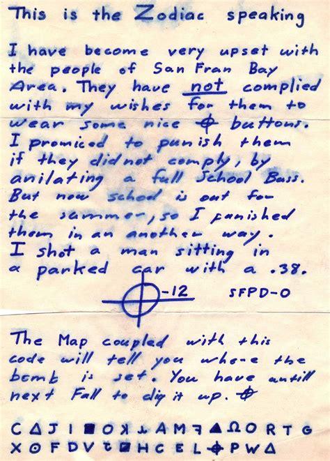 infamous handwritten letters