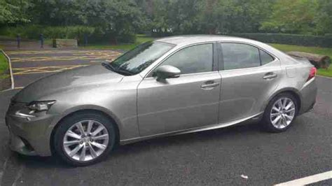 lexus is300 2013 lexus 2013 is 300h luxury cvt silver car for sale