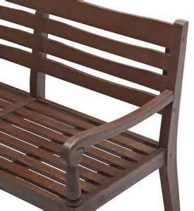strathwood patio furniture manufacturer strathwood redonda hardwood 2 seater bench