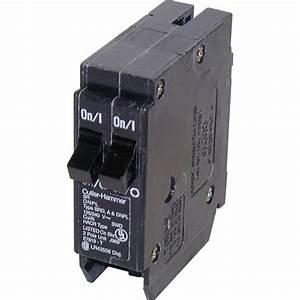 Prise 20 Ampere : eaton type br 20 amp tandem circuit breaker lowe 39 s canada ~ Premium-room.com Idées de Décoration