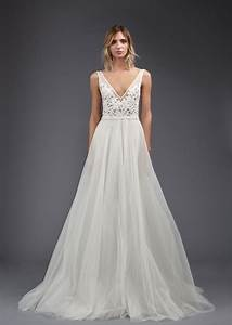 wedding dresses photos quottiffanyquot by victoria kyriakides With wedding dress with v neck
