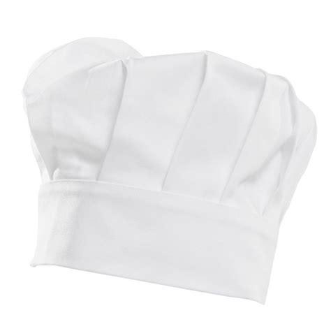 toque cuisine toque cuisine chef pâtissier hauteur 220 mm 100 coton