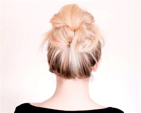 acconciatura facile capelli