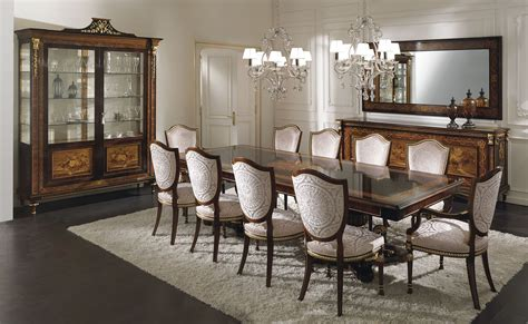 italian luxury dining room furniture design