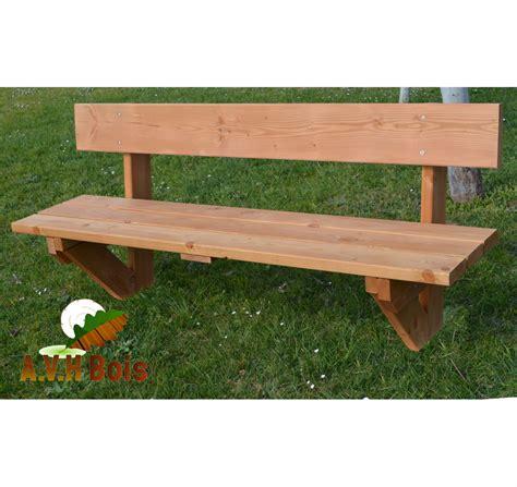 banc de cuisine en bois banc en bois douglas saturé avh bois