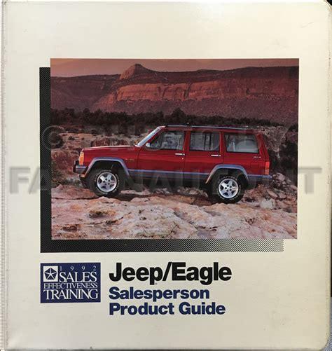 car repair manual download 1992 jeep cherokee regenerative braking 1992 jeep cherokee owner s manual original
