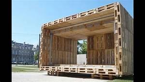 Pallet Furniture Ideas Pallet Furniture House Plans - YouTube