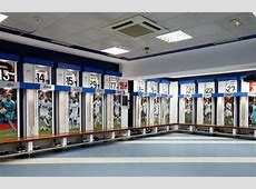 Real Madrid includes the first team dressing room at the