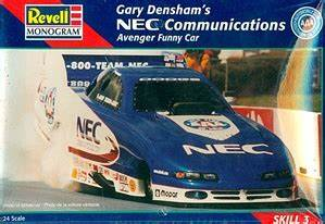 Gary Densham U0026 39 S Nec Communications Dodge Avenger Funny Car