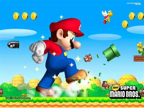 New Super Mario Bros Nintendo Ds Wallpaper 1383132
