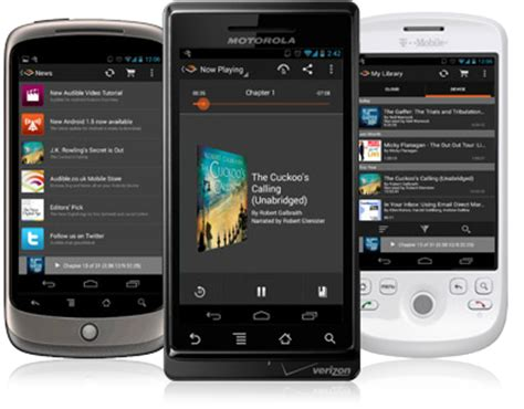 audible for android audible app for android phones free audible apps
