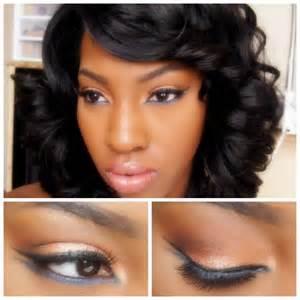 Flawless Makeup Idea for Black Women