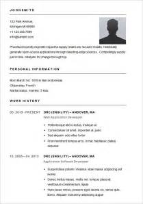 simple resume format pdf india basic resume template 51 free sles exles format download free premium templates