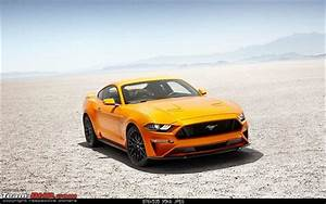 2018 Ford Mustang Facelift; V6 engine dropped - Team-BHP