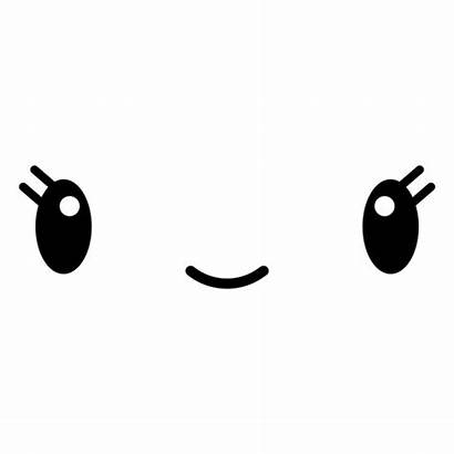 Kawaii Transparent Smile Emoticon Sonrisa Svg Emoji