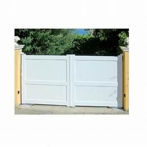 Portail De Garage Coulissant : installation thermique portail garage coulissant pvc ~ Edinachiropracticcenter.com Idées de Décoration