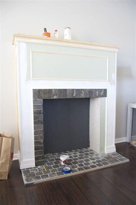 diy building  faux fireplace diy tricks diy home