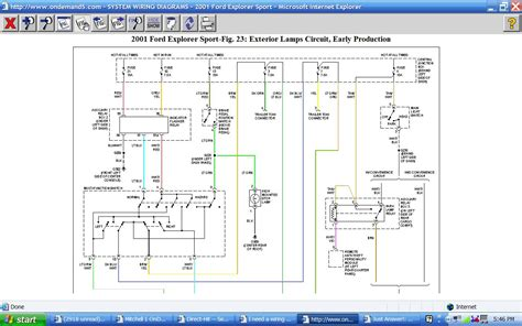 i need a wiring diagram for a 2001 ford explorer sport