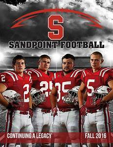 September 2016 Sandpoint High School Football Program by ...
