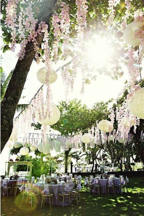 mariage inspiration pour une decoration de jardin