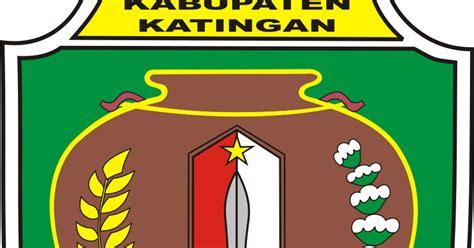 logo kabupaten kota logo kabupaten katingan kalimantan
