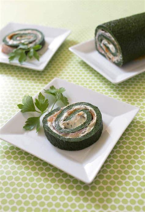 gateau roule sale saumon epinards les meilleures