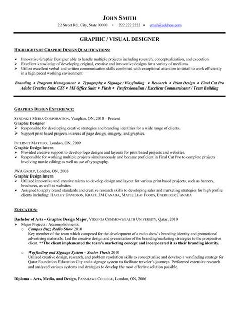 17 best images about best multimedia resume templates