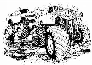Ausmalbilder Monster Truck 3 Ausmalbilder Malvorlagen
