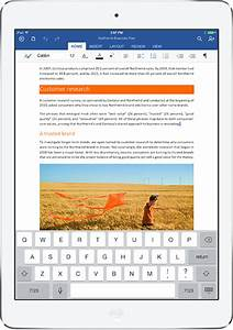 microsoft launches office for ipad including word excel With microsoft documents on ipad