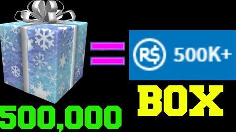 secret box  roblox   robux
