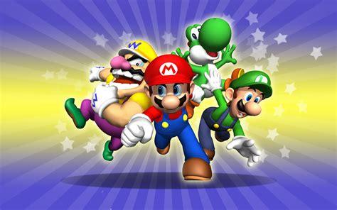 Super Mario Wallpaper Hd Wallpaper  3d & Abstract Wallpapers