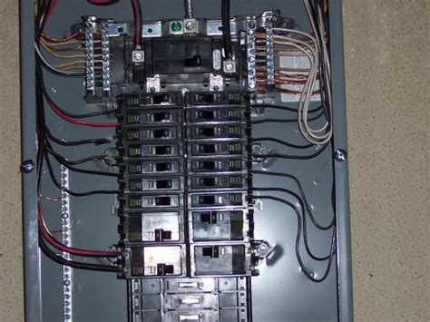 A Panel Sub Panel Wiring by Is 8 Wire Overkill For A Sub Panel With 15 Breakers