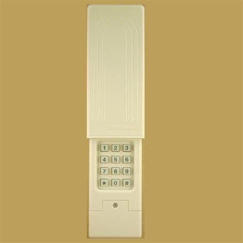 garage door keypad liftmaster 387lm wireless universal garage door keypad ebay