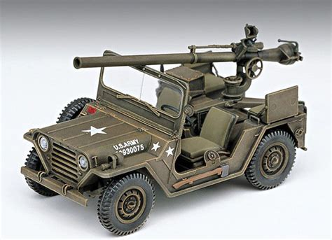military jeep with gun stylecolorful new m 151a1 with 105mm recoilless gun 1 35