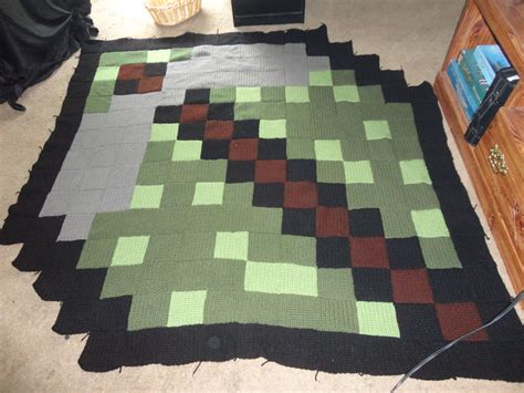 Minecraft Bedroom Rug by Minecraft Rug Made The Same Way As The Others The Ends
