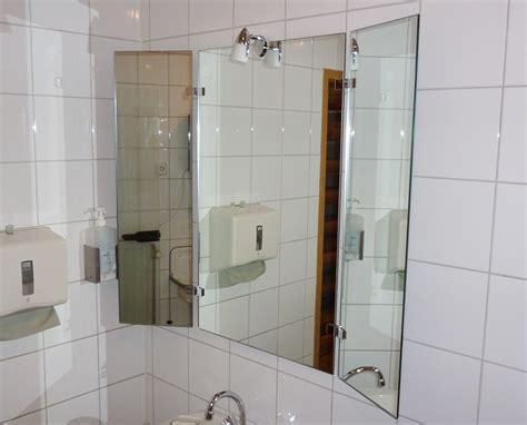 Klappspiegel 3 Teilig Wunderbar Badezimmerspiegel Teilig